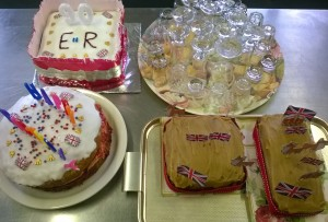 Brightside cakes for the queen
